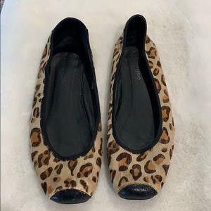 Cheetah Print Flats